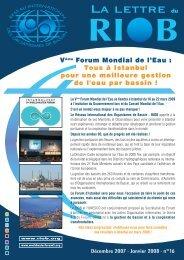 n° 16 - Décembre 2007 - Janvier 2008 - RIOB