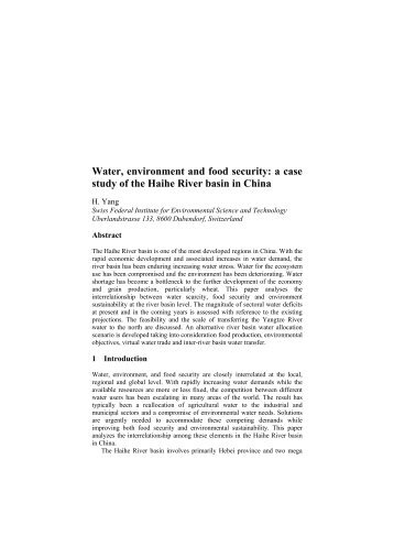 an analysis of the government versus the environment Policy analysis literature (macrae 1980 salamon 1989 weimer and vining  1999)  governments' environmental protection programs may in- fluence  private.