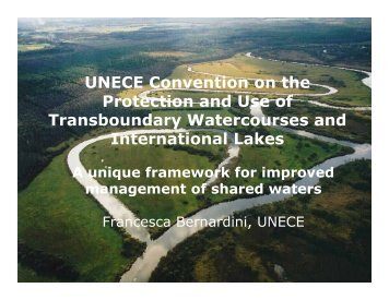 UNECE Convention on the Protection and Use of ... - INBO