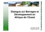 Dialogue sur Barrages et Développement en Afrique de l'Ouest - INBO