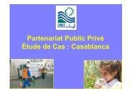 Partenariat Public Privé Étude de Cas : Casablanca - INBO