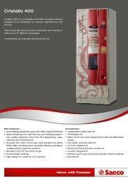 Cristallo 400 - Rio International - Food Processing Equipments