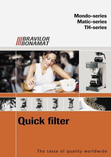 Quick filter - Espresso Mechanics