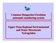 The common Hungarian-Ukrainian automatical monitoring ... - INBO