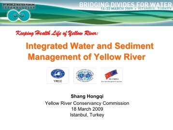 Integrated Water and Sediment Management of Yellow River - INBO