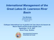 Lake Ontario and St. Lawrence River Regulation - INBO