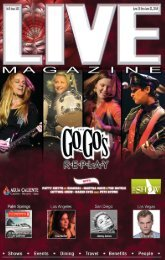 LIVE MAGAZINE VOL 8, ISSUE 185 JUNE 13 THRU JUNE 21 4014