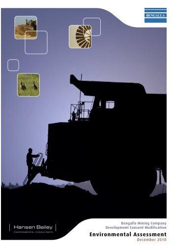 Environmental Assessment (2010) - Rio Tinto Coal Australia