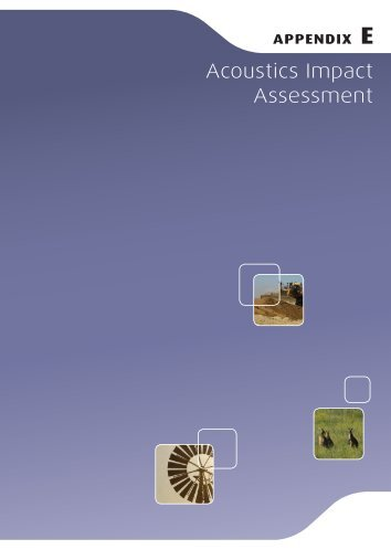 Environmental Assessment (2010) Appendices, Part 2 of 4