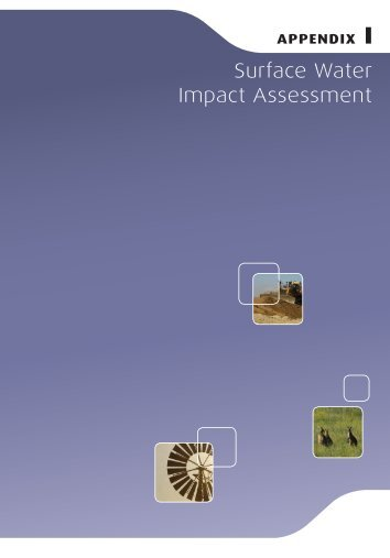 Environmental Assessment (2010) Appendices, Part 3 of 4