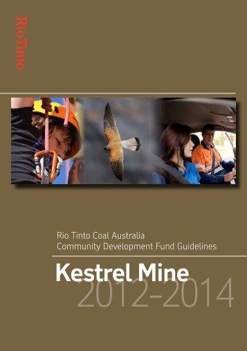 Kestrel Mine - Rio Tinto Coal Australia