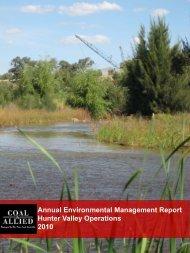 HVO 2010 Annual Environmental Management Report (PDF 11.97 ...