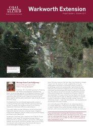 Warkworth Extension - Rio Tinto Coal Australia