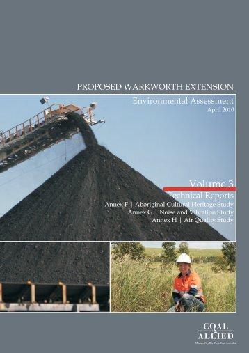 Volume 3 - Rio Tinto Coal Australia