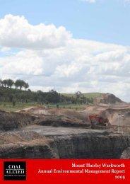 2009 Mount Thorley Warkworth Annual Environmental Management ...