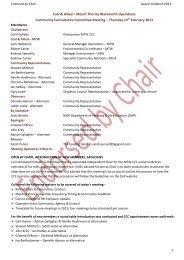 MTW Community Consultative Committee April 2012 (PDF 887 KB)