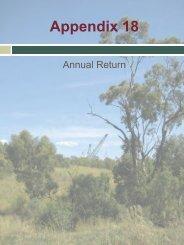 Appendix 18 - Rio Tinto Coal Australia