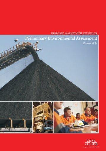 Preliminary Environmental Assessment - Rio Tinto Coal Australia