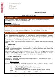 TDR-Sécurité-0006 TERMS OF REFERENCE 1 - Rio Tinto - Qit ...