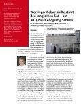 SONDERAUSGABE Wertinger Geburtshilfe und Gynäkologie vor ... - Page 2