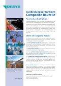 Ausbildungsprogramm Composite Bauteile - desys - Page 2
