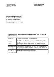 Beschlussentwurf - RIS
