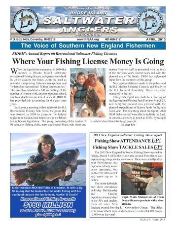 Results for baseline vari for Ri fishing regulations