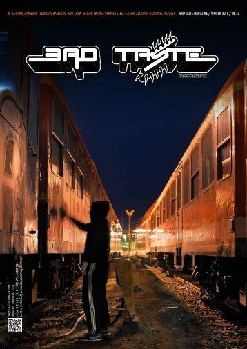 Presse ISSUE 10 - Bad Taste Magazine