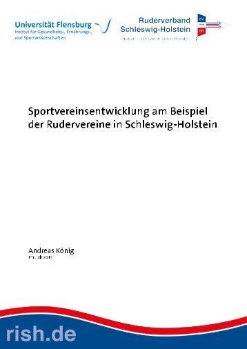 Sportvereinsentwicklung am Beispiel der Rudervereine in ...