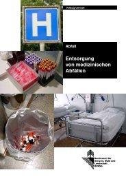 Entsorgung von medizinischen Abfällen - Bafu - admin.ch