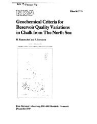 Geochemical Criteria for Reservoir Quality Variations in Chalk from ...