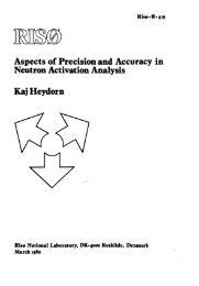 Aspects of Precision and Accuracy in Neutron Activation Analysis ...