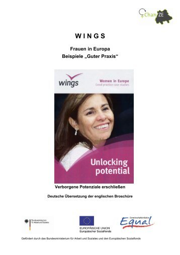 W I N G S – Frauen in Europa – Beispiele