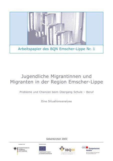 BQN Arbeitspapier 1 -Jugendliche Migrantinnen und Migranten in ...