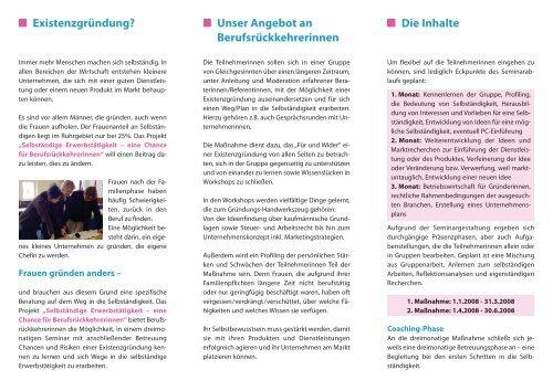 Selbständige Erwerbstätigkeit - Rhein-Ruhr-Institut für ...