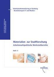 Duisburg – Branchenbericht IT-Medien - GIB NRW