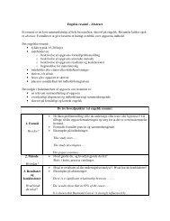 Klik på linket og se, hvordan man skriver et abstract