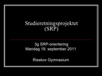 Disposition i dag (1) - Risskov Gymnasium