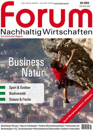 Nachhaltig Wirtschaften - Ristic AG