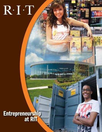 Entrepreneurship at RIT - Rochester Institute of Technology