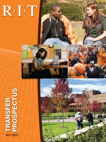 TRANSFER PROSPECTUS - Rochester Institute of Technology