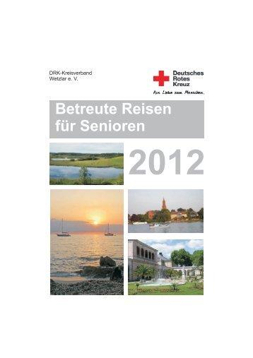 Reisen mit besonderem Service! - DRK - Kreisverband Wetzlar e. V.