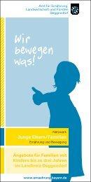 Junge Eltern/Familien - Amt für Ernährung, Landwirtschaft und ...