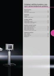 Ovládací skříňky/systémy nos- ných ramen/stojanové systémy - Rittal