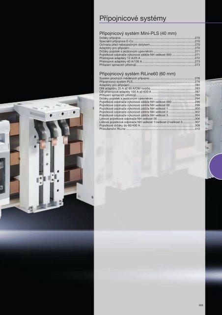 Přípojnicové systémy - Rittal