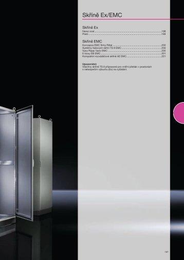 Skříně Ex/EMC - Rittal