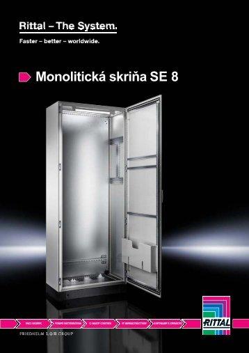 Monolitická skriňa SE 8 - Rittal
