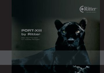 PORT-XIII by Ritter - Ritter Concept GmbH