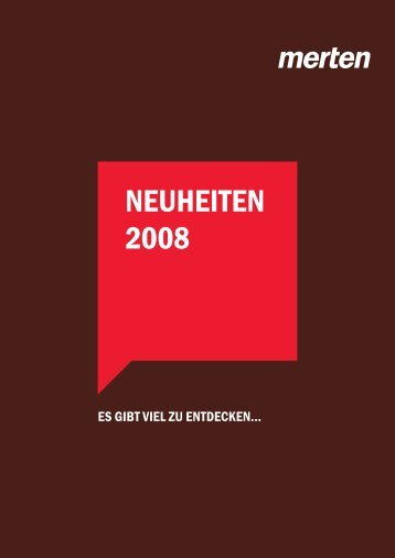 Download Merten-Neuheitenbroschüre - Ritto
