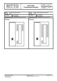 PDF für Audio und Video - Ritto